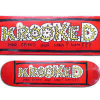 KROOKED TEAM SPIKED DECK (8.06 x 31.8inch)