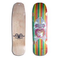 SANTA MONICA AIRLINES BENNETT HARADA TIGER CLASSIC BY JIRO DECK (9 x 33.25inch)