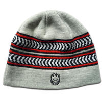 SPITFIRE CRESCENT STRIPE SKULLY BEANIE