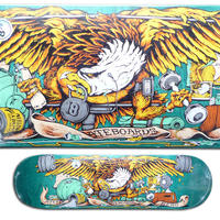 ANTI HERO PUMPING FEATHER DECK  (8.28 x 31.7inch)