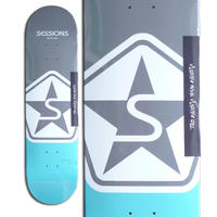 SESSIONS ICON DECK GREY / BLUE (8 x 31.6inch)