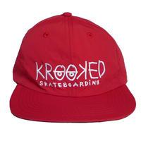 KROOKED KROOKED EYES STRAPBACK CAP