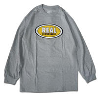 REAL OVAL L/S TEE