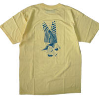 ANTI HERO HERNDON ART TEE BANANA YELLOW PFANNER