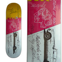 KROOKED MARK GONZALES EFFISHANT DECK (8.62 x 32.56inch)