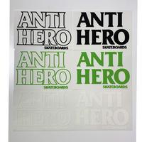 ANTI HERO BLACKHERO  STICKER