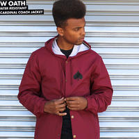 THRASHER  NEW OATH HOODED COACH JACKET
