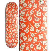 """KROOKED FLOWERS PP """"PRICE POINT"""" DECK (8.06 x 31.8inch)"""