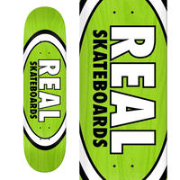 REAL OVERSPRAY OVAL DECK   (8.06 x 31.8inch)