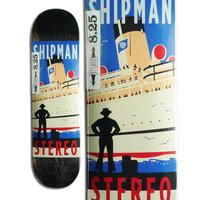 STEREO CARL SHIPMAN TRAVEL POSTER DECK  (8.25 x 32inch)