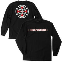 INDEPENDENT BAR/ CROSS YOUTH L/S  TEE