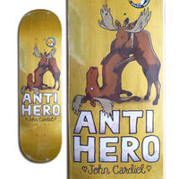 ANTI HERO JOHN CARDIEL FOR LOVERS ONLY PT.2 DECK  (8.62 x 32.3inch)