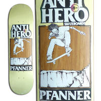 ANTI HERO CHRIS PFANNER LANCE2 DECK  (8.25 x 32inch)