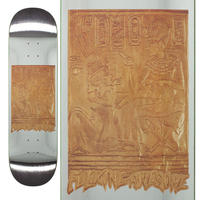 FUCKING AWESOME GOLD HIEROGLYPHIC DECK (8.5 x 31.91inch)
