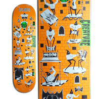 CREATURE x JAY HOWELL FREE FOR ALL SM DECK (8 x 31.8inch)