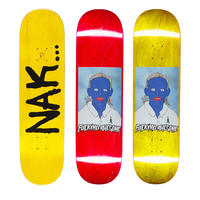 FUCKING AWESOME NA-KEL SMITH PAINTED NAKEL DECK (8.25 x 31.79inch)