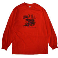 OUR LIFE WASHED UP L/S TEE