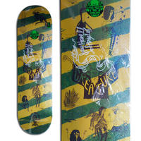 CREATURE x JAY HOWELL SNAKE BARF MEDIUM SIGNED DECK - A (8.25 x 32.04inch)  サイン入りデッキ & ポスター付き