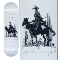 FUCKING AWESOME NA-KEL COWBOY WHITE DECK  (8.25 x 31.79inch)