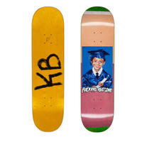 FUCKING AWESOME KEVIN BRADLEY FELT CLASS PHOTO DECK  (8 x 31.66inch)