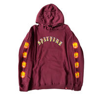 SPITFIRE OLD E BIGHEAD FILL SLEEVE PULLOVER  HOODIE