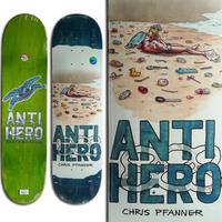 ANTI HERO CHRIS PFANNER PLASTICS DECK (8.06 x 31.97inch)