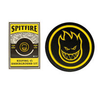 SPITFIRE BIGHEAD CIRCLE LAPEL PIN