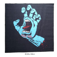 SANTA CRUZ SCREAMING HAND LOGO RUG