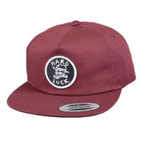 HARD LUCK OG LOGO PATCH SNAPBACK CAP