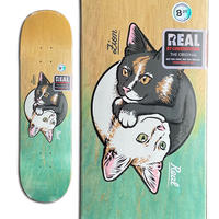 REAL ZION WRIGHT YING YANG KITTY DECK (8.25 x 32inch)