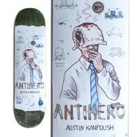 ANTI HERO AUSTIN KANFOUSH RECYCLING DECK (8.06 x 31.8inch)