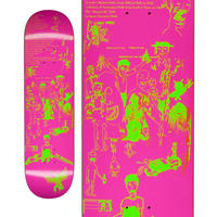 FUCKING AWESOME DRAWINGS 2 PINK DECK  (8.5 x 31.91inch)