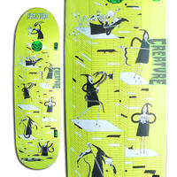 CREATURE x JAY HOWELL FREE FOR ALL LG DECK (8.8 x 31.48inch)