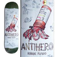 ANTI HERO ROBBIE RUSSO RECYCLING DECK DECK (8.25 x 32inch)