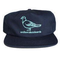 ANTI HERO LIL PIGEON EMBROIDERED SNAPBACK CAP