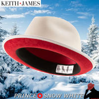 キースアンドジェームズ★Keith & James PRINCE 【Snow White】 Large with Travel Kit(Hat Box)