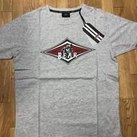ベアー・サーフボード ジャストロゴ Tシャツ Sサイズ【グレー】