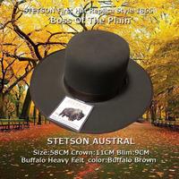 STETSON★ステットソン・アウストラル・ブラウン【Buffalo】58CM