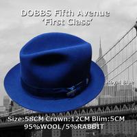 DOBBS★ドブズ・ファーストクラス・ロイヤルブルー【ウールミックス】58CM
