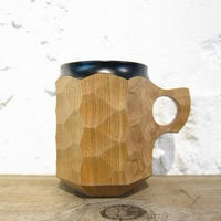 Akihiro Woodworks / JIN CUP-Urushi / BLACK / L
