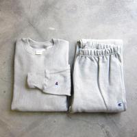 Champion / チャンピオン / Reverse Weave / リバースウィーブ / SWEATSHIRT + PANTS SET / Gray