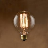 Edison Bulb / Globe (S) / 60W / E26