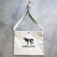 COW BOOKS / カウブックス/ Canvas Sacoche