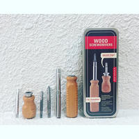 Wood screwdriver / set