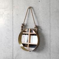 Wall Rope Mirror / Round