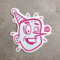 SUB POP / サブポップ / STICKER / NEW PUNKY