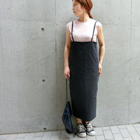 2018aw ハイゲージツイルジャンパースカート(1週間前後で発送予定)