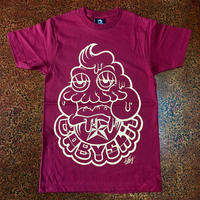 BABY SHIT T-shirt  Burgundy