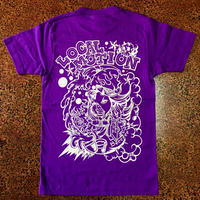 LOCAL MOTION T-shirt  Purple