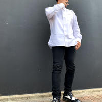 button-down shirt White
